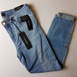 Liverpool The Crop Rolled Jeans